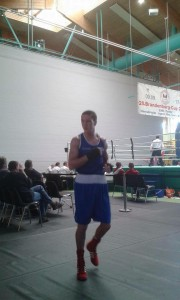Francis Cleary at Brandenburg Youth Cup