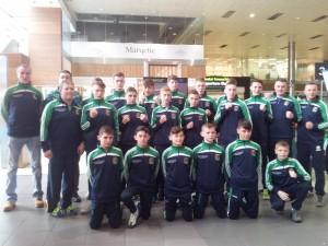Irish squad and staff 2015 European Schoolboy C'Ships